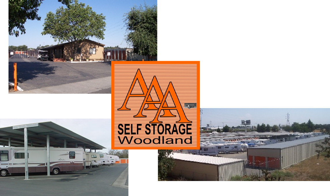 AAA Self Storage Is Your Neighborhood Storage Facility Serving Woodland,  Davis, Knights Landing, Madison, Yolo, Sacramento, Dunnigan, Winters, ...